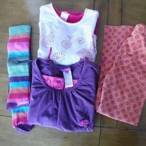 Bundle of Deux par Deux clothing for Girls size 5